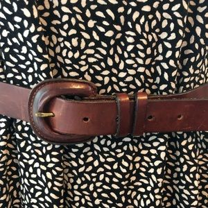 Beautiful brown Banana Republic belt size medium